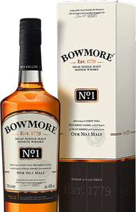 Bowmore No 1 Islay Single Malt Whisky 70cl. £25 @ Amazon
