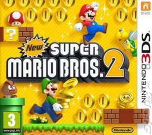 New Super Mario Bros 2 3DS (Preowned) @ Music magpie - £14.93