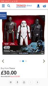 "Star wars rogue one 3 set 20"" - £30 @ Tesco Direct and instore"