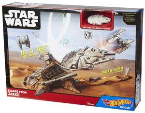 Hot Wheels Star Wars Escape from Jakku Play Set - £12.22 (inc. free delivery) @ toptoys2u_ltd eBay