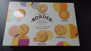 Border Biscuits Classic Recipe Selection £2.49 @ QD Stores