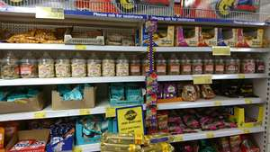 Plastic sweet jars with all old favourites B&M store £2.99 each