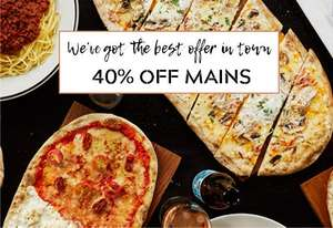 Food Offers at Prezzo - 40% Off Main Meals / Kids Eat for £1 / 25% Student Discount and more
