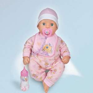 Rock-a-bye Chou Chou Baby Doll (was £50) Now £25 at Tesco Direct