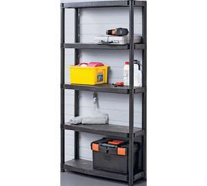 TWO 5 tier shelving units for £31.98 (£15.99 each) @ Argos