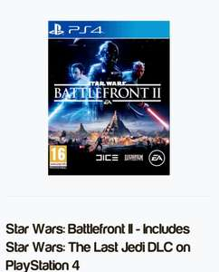 Star Wars Battlefront 2 pre order £44.85 + FREE delivery PS4 / XBoxOne @ SimplyGames
