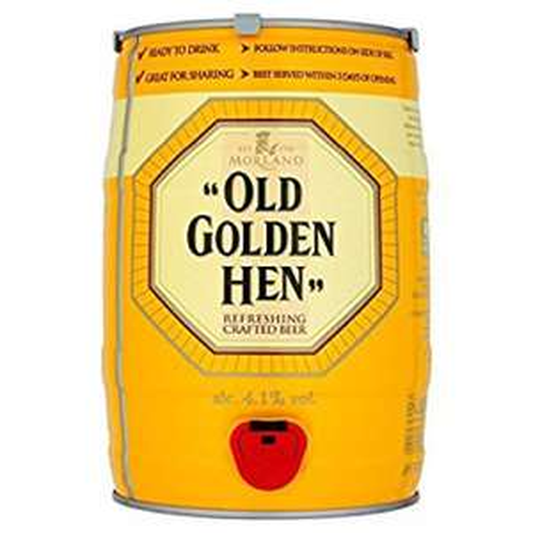 Old golden hen keg £11.50 instore @ b&m