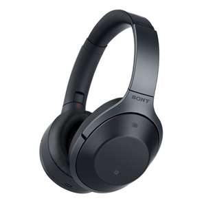 Sony MDR-1000X Wireless Bluetooth Noise Cancelling Ambient Sound Touch Sensor High Resolution Audio Headphones - Black at Amazon for £290.14
