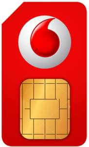 25GB 4G Data - Unlimited Calls/Texts - 12 Months Sim Vodafone £25 Month for 12 months £300 via uSwitch