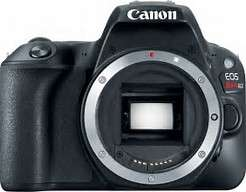 Canon 200D or SL2. 24Mp. Dual Pixel AF. Best DSLR for beginners and Vlog camera.BODY ONLY £344.84 with code @ eglobal