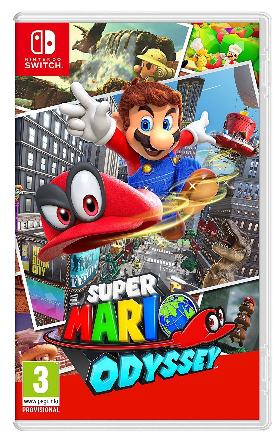 Super Mario Odyssey Nintendo Switch Digital Copy £41.99 (£39.99 with Prime) @ Amazon