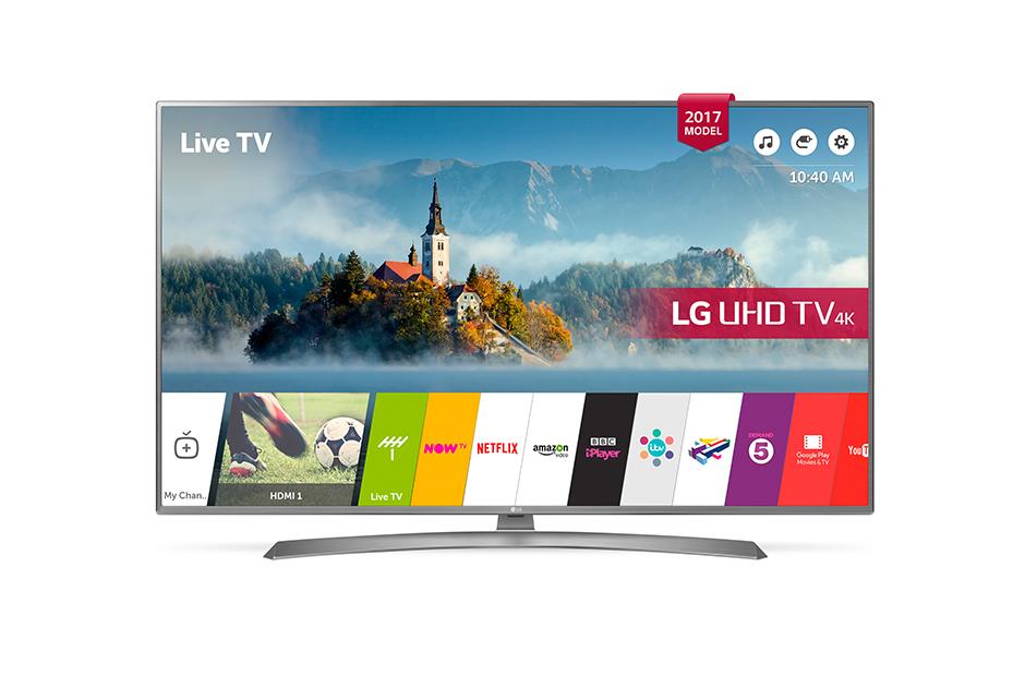 LG 49UH610V 49 inch 4K Smart TV - £399.99 in store at Co-Op or £359.99 with NUS