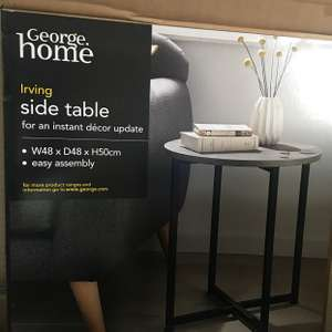 Asda Round Side Table - £2 instore