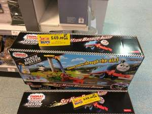 Thomas & Friends TrackMaster Thomas' Sky-High Bridge Jump Train Set - £49.99 instore @ Home Bargains