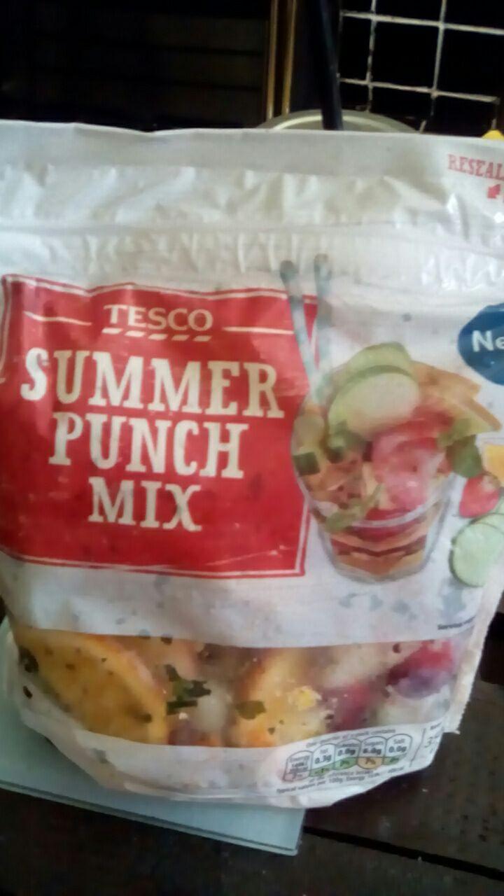 Fruit punch mix @ tesco 40p RTC