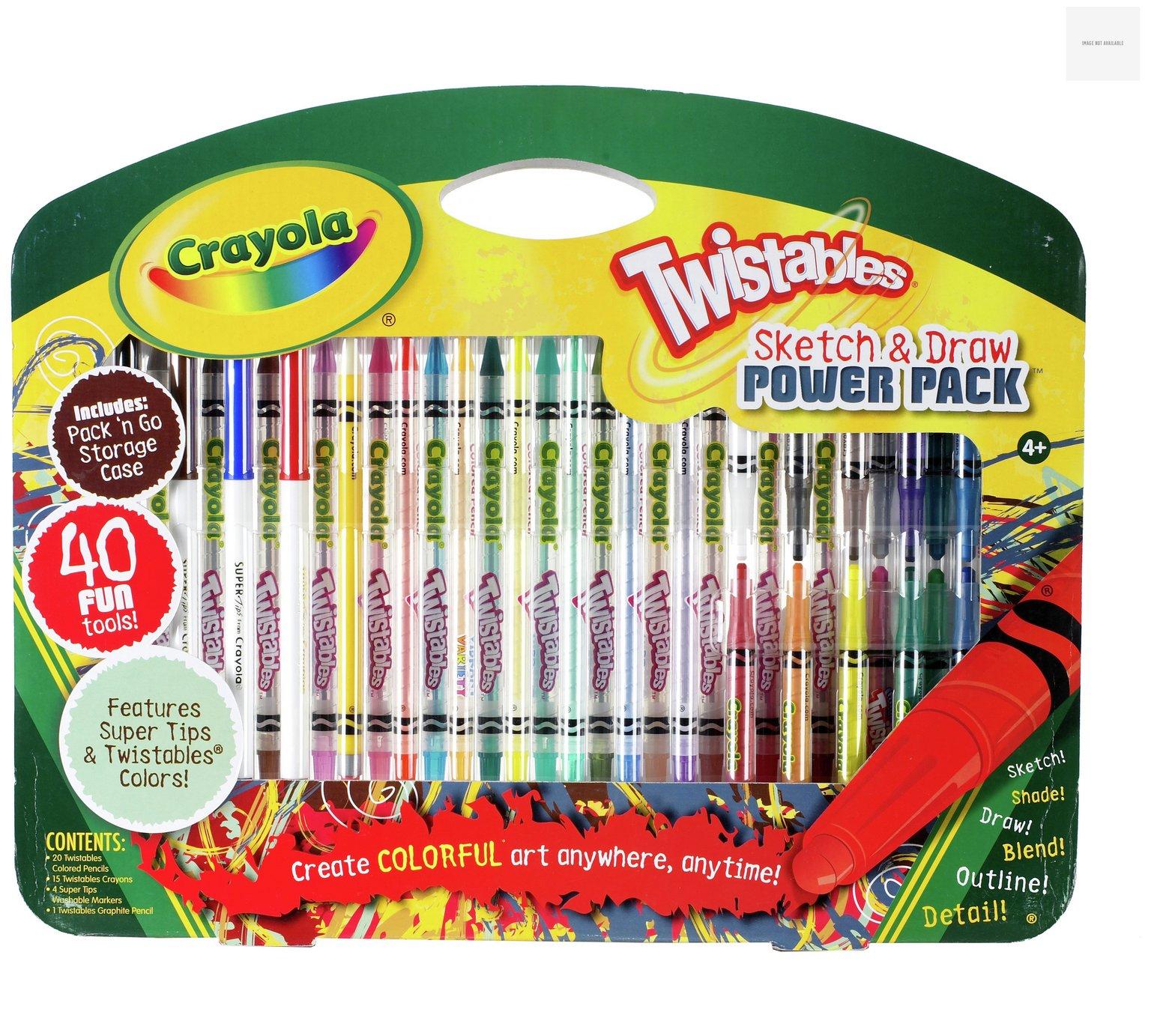 Crayola Twistables Sketch and Draw Set @Argos £5.99