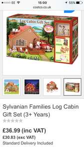 Sylvanian Families Log Cabin Gift Set - £28 @ Costco