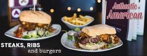 £10 off £20 spend @ arbuckles American restaurant at downham market and Ely