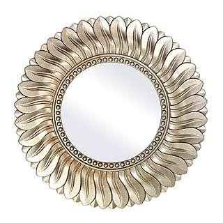 DUNELM gorgeous round champagne mirror £20 @ Dunelm