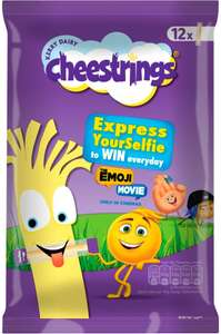 Cheestrings Original (12 x 20g) was £3.48 now £2.00 @ Morrisons