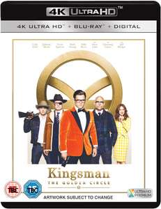 Kingsman: The Golden Circle 4k uhd pre-order - £19.99 @ Zavvi