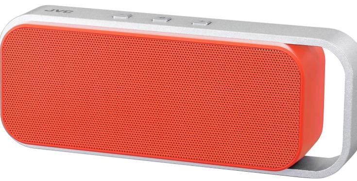JVC SP-ABT1 Wireless Bluetooth Speaker - Orange £30.57 @ Amazon
