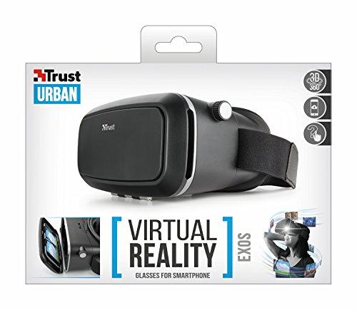 Trust Urban 3D Exos Virtual Reality Glass for Smartphones - Black £13.20 (Prime) / £17.95 (non-Prime) @ Amazon