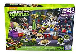 Mega Bloks TMNT Toy - Teenage Mutant Ninja Turtles Xmas Advent Calendar - Includes 158 Pieces £12.99 Delivered Prime Members (£16.98 non Prime) Sold by Importtoys and Fulfilled by Amazon
