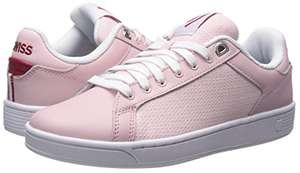 K-Swiss Women's Clean Court Cmf Fashion Sneaker @ Amazon - £12.50 Prime / £17.25 Non-Prime