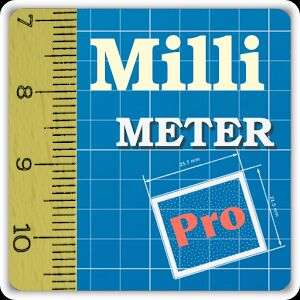 Millimeter Pro screen ruler FREE on Google Play (normally £1.39)