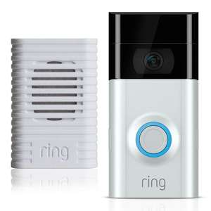 Ring video doorbell 2 with chime £169.99 @ Costco
