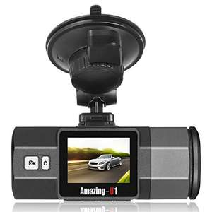 "Oasser 1080P FHD Dash Cam Car Camera Built-in G-Sensor Parking Monitor Motion Detection Loop Recording 1.5"" LCD  £42.99 Sold by Oasser Direct UK and Fulfilled by Amazon"