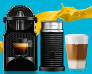BUY NESPRESSO INISSIA MACHINE - £59 - GET A FREE MILK FROTHER