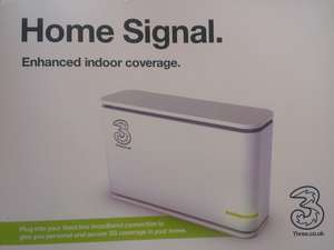 Three (3) home signal, for those who don't get signal indoors.