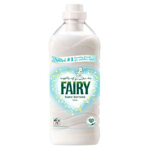 Fairy 76 Wash Fabric Conditioner £1 @ poundshop.com (£4.95 delivery)