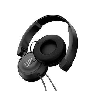 JBL Harman T450 On-Ear Lightweight Foldable Headphones with Mic - Black £18.50 (Prime) / £22.49 (non Prime) at Amazon
