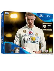 PS4 Slim 500GB FIFA 18 Ronaldo Edition - 3 Day Early Access Bundle £199.99 @ Tesco Direct