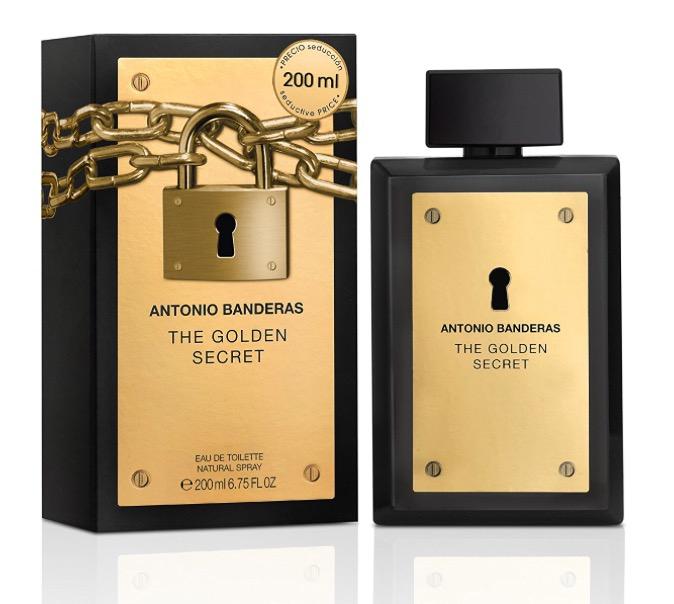 THE GOLDEN SECRET by Antonio Banderas 200ml EDT for men £21.40 @ Amazon