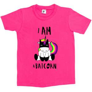I Am Batcorn Unicorn Kids T-Shirt ages 3 - 14yrs £3.49 Del @ Ebay (sold by sg_outlet) + lots more in OP inc Adults & Christmas