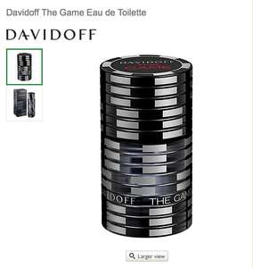 Davidoff The Game Eau de Toilette 100ml £22.99 John Lewis