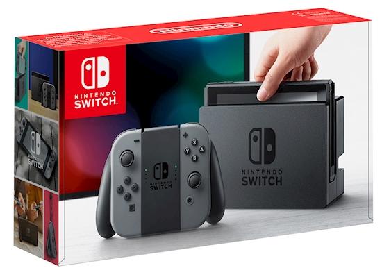 Nintendo Switch (Grey) pre-owned @ Grainger games - £199.99