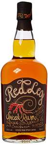 Amazon - Red Leg Spiced rum, 70cl, £13.60 (Prime) / £18.35 (non Prime)