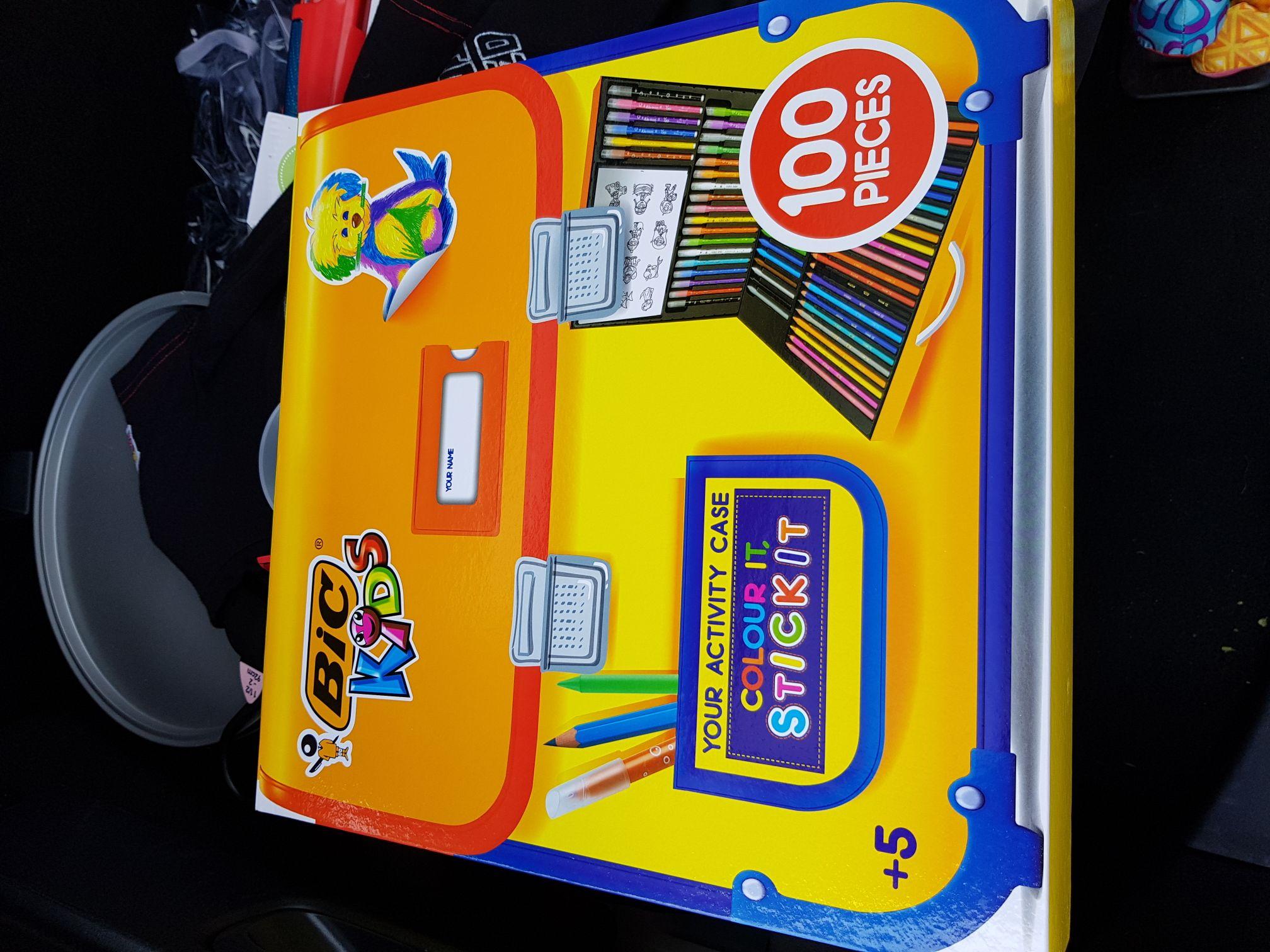 Bic kids pen set £5.50 Tesco instore Merthyr Tydfil