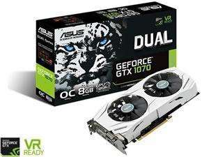 ASUS GeForce GTX 1070 DUAL OC 8GB - Novatech - in stock - £359.99