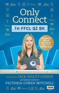 Save £10 New 'Only Connect' Quiz Book £4.99 (Prime) / £7.98 (non Prime) at Amazon