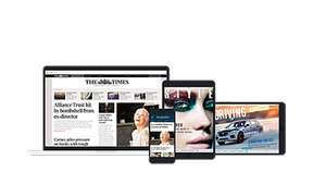 The Times and The Sunday Times (Digital) 3 Month for £3 - Gets You Times+ Offers