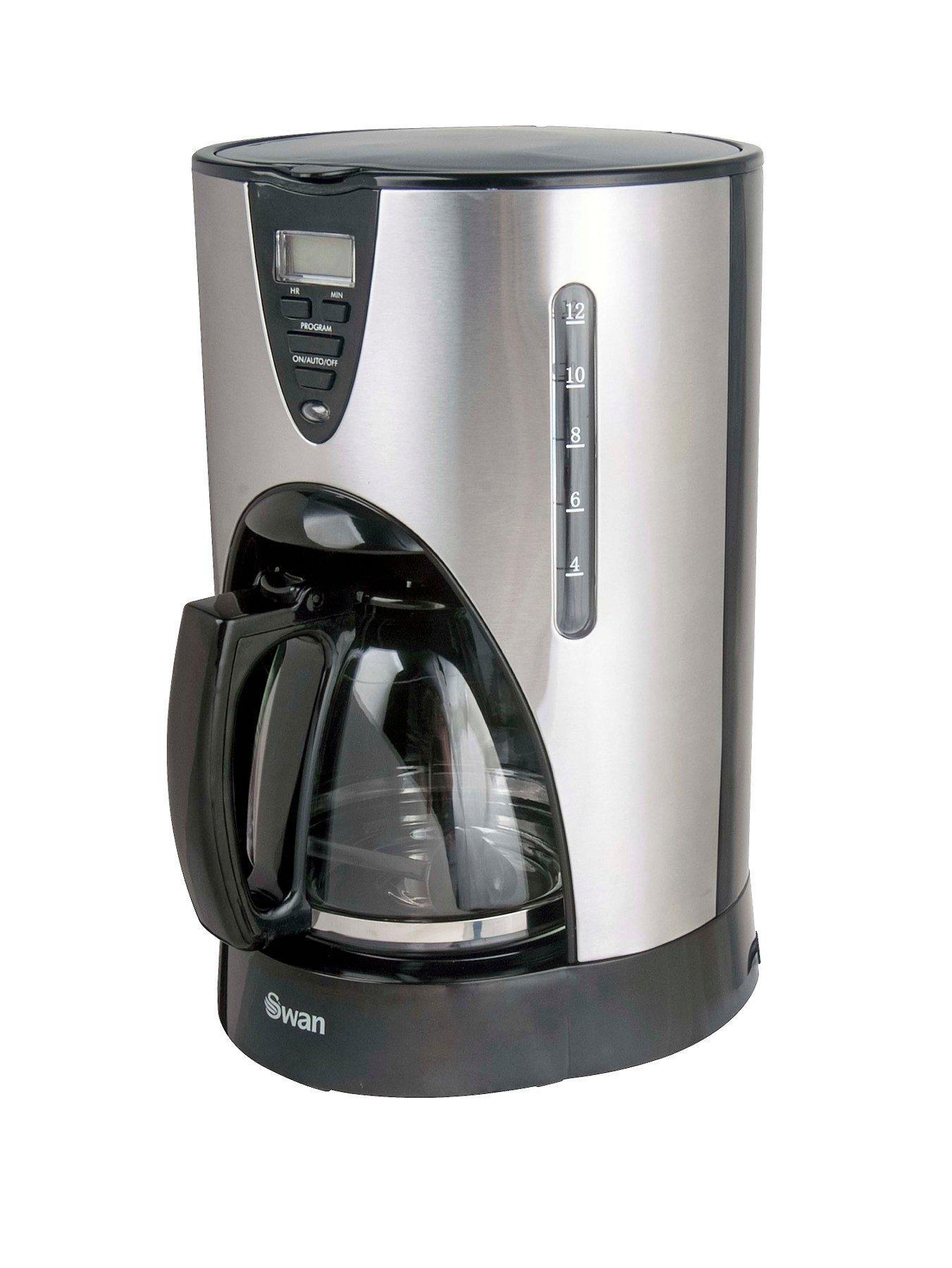 Swan SK13140 Filter Coffee Maker - Stainless Steel - now £16.99 @ Very
