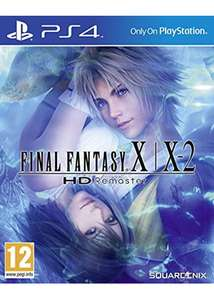 Final Fantasy X/X-2 HD Remaster PS4 (New) - £15.95 @ Base.com