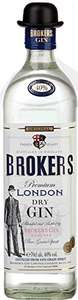 Brokers Gin, 70 cl £16 (Prime / £20.75 non Prime) @ Amazon