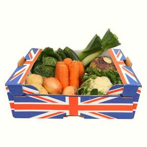 New British Seasonal Veg Box £5 @ Morrisons